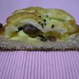 金時豆のクリームパン1